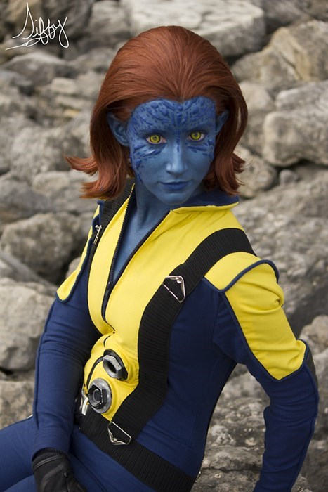 cosplay superheroes mystique x men - 7965709056