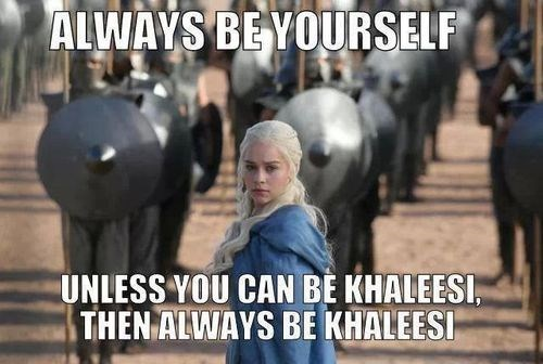 Daenerys Targaryen Game of Thrones khaleesi