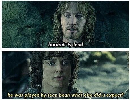 Boromir Lord of the Rings sean bean - 7965803776