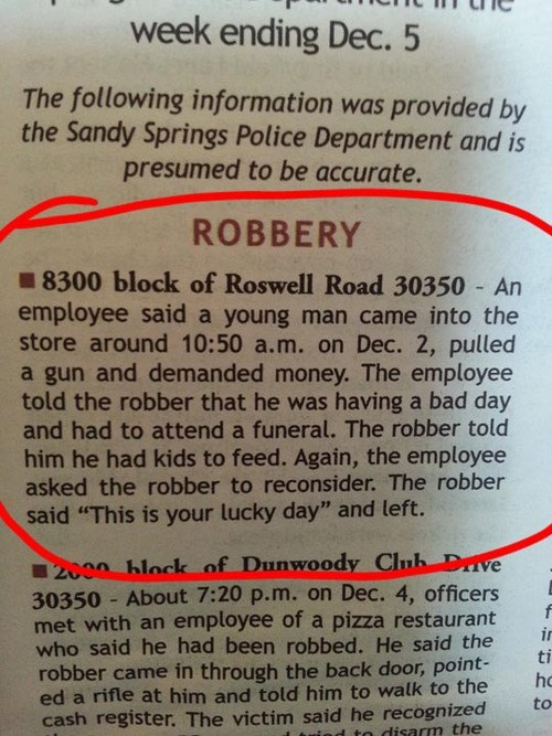 news robbery i'm having a bad day - 7965826816