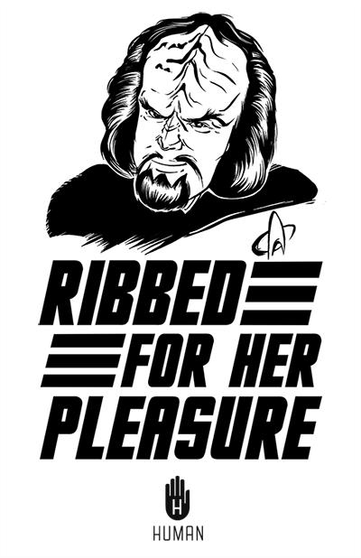 condoms klingon Star Trek TNG Worf - 7965830144