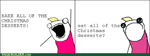 all the things,desserts,christmas