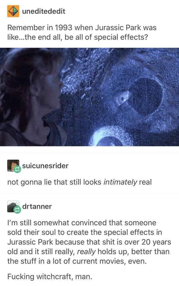 Jurassic park tumblr