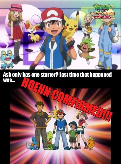 ash Pokémon hoenn confirmed anime - 7965985536
