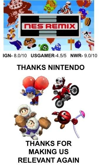 nintendo,retro,NES remix