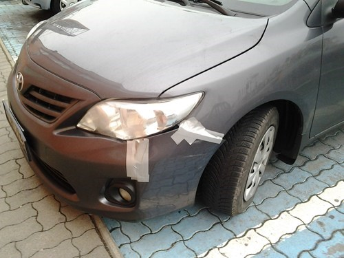 cars,duct tape,g rated,there I fixed it