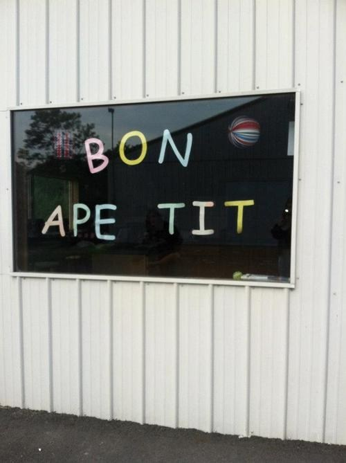 bon appetit spelling