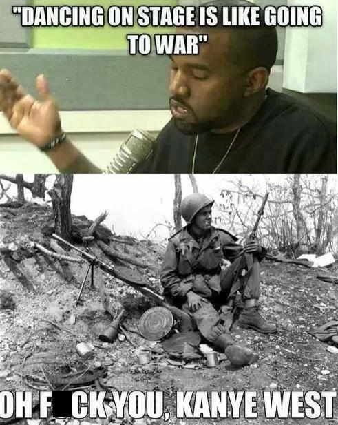 dancing,war,kanye west