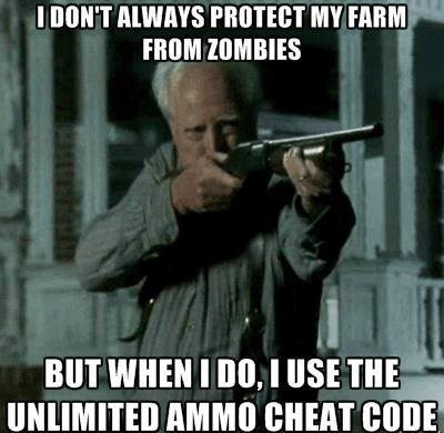 hershel greene cheat codes shotgun zombie - 7966770944