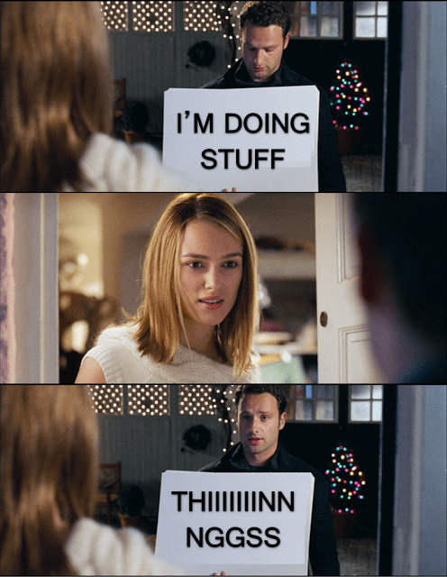 Andrew Lincoln Keira Knightley love actually stuff and things - 7966796288