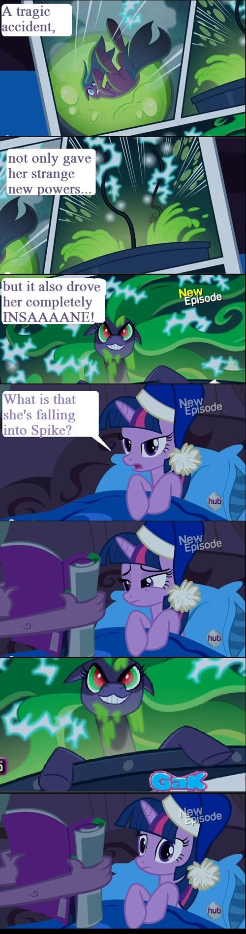 twilight sparkle gak mane-iac - 7966869760