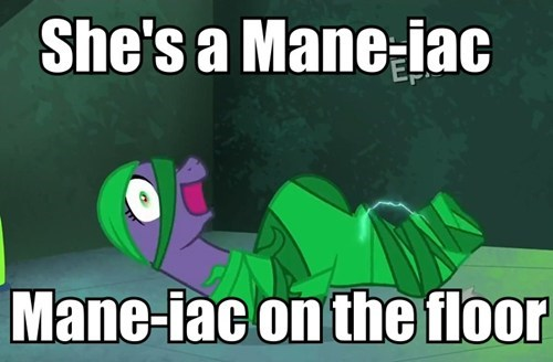 flashdance,puns,power ponies,mane-iac