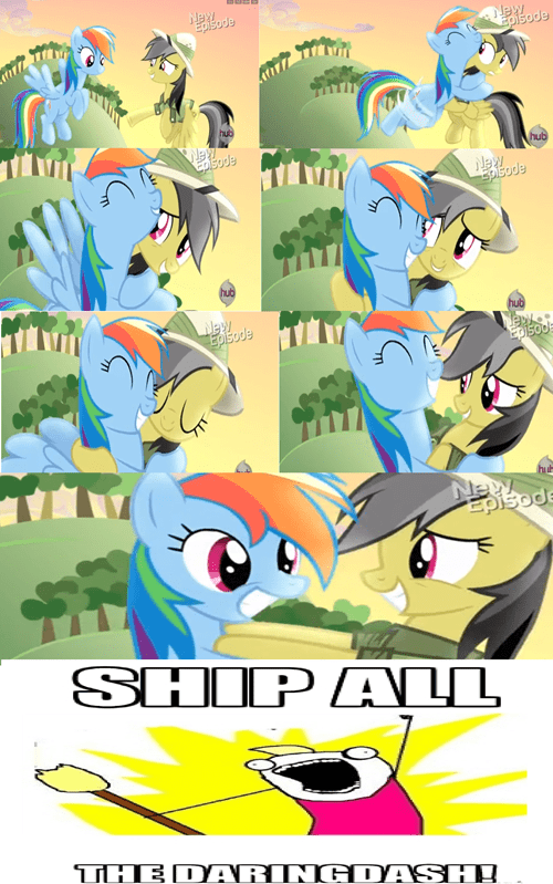 daring do ship rainbow dash - 7966872064