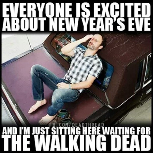 Andrew Lincoln,new years,The Walking Dead
