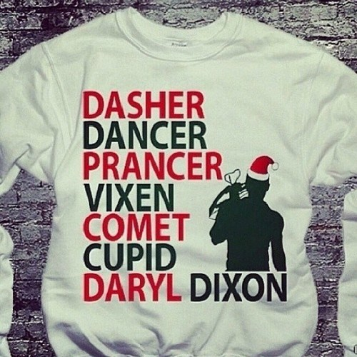daryl dixon christmas sweater riendeer - 7966883840