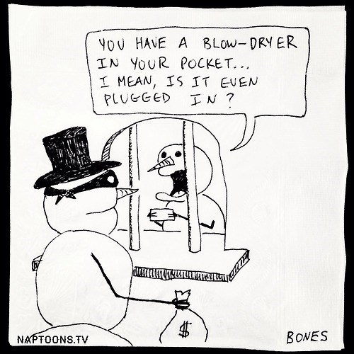 snow man robbery web comics - 7966912512