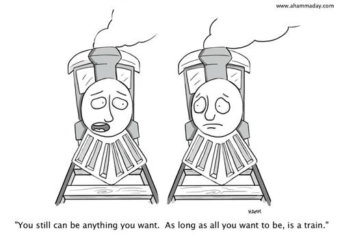 life lessons trains web comics - 7966915840