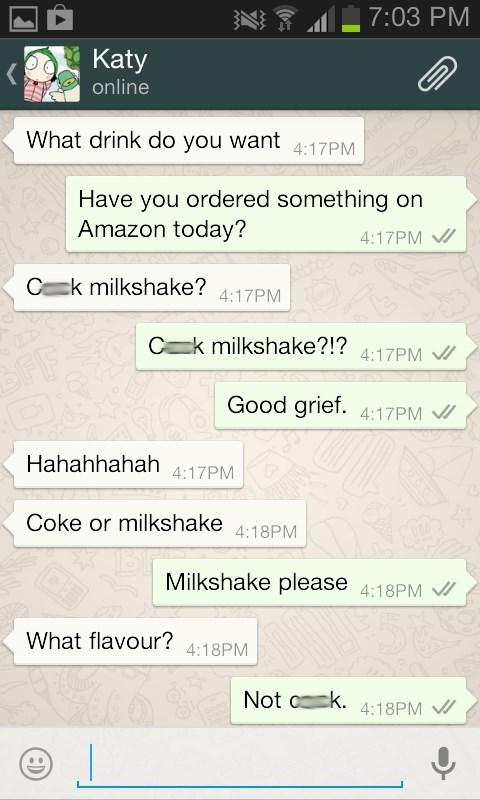autocorrect,milkshakes,text