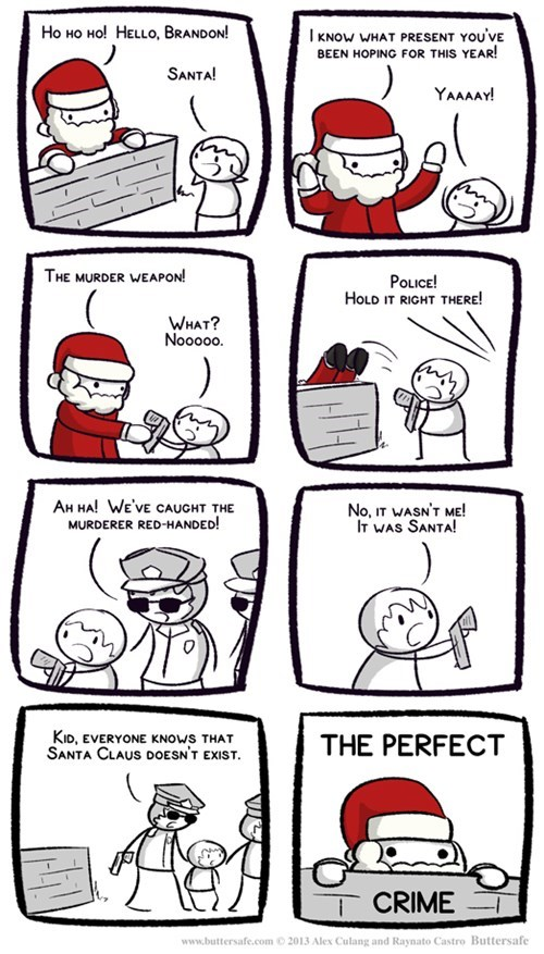 christmas,santa claus,weapons,web comics