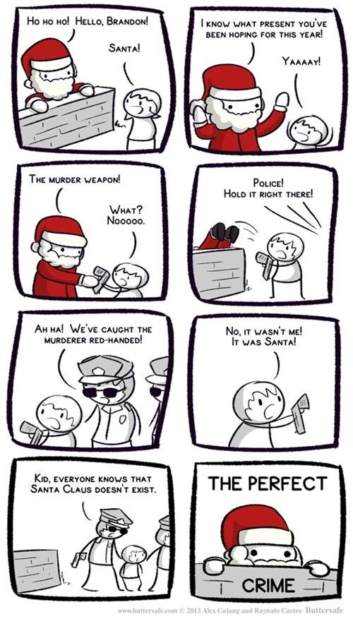 christmas santa claus weapons web comics - 7967342080