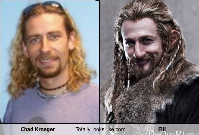 chad kroeger,totally looks like,fili