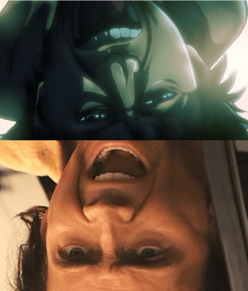 anime nicolas cage attack on titan - 7968029184