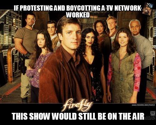canceled fox TV Firefly