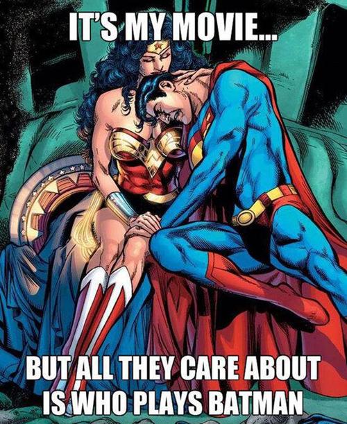 batfleck wonder woman Batman v Superman superman - 7968377600