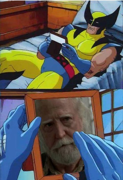 Sometimes We All Feel Like Wolverine