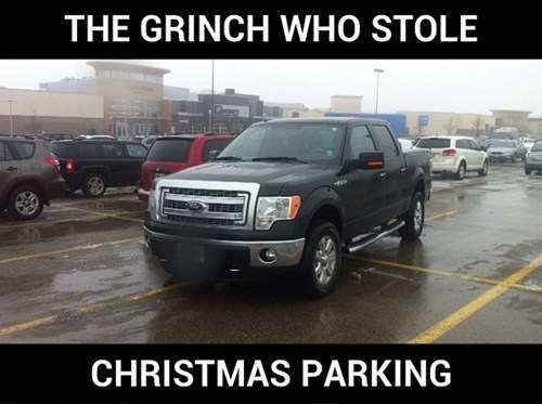 christmas,parking,trucks