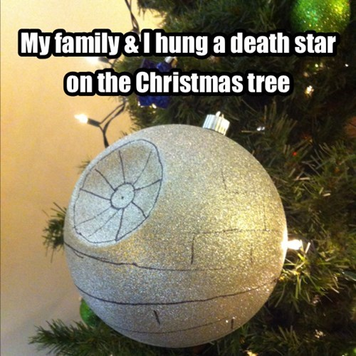 christmas trees Death Star star wars - 7969107456