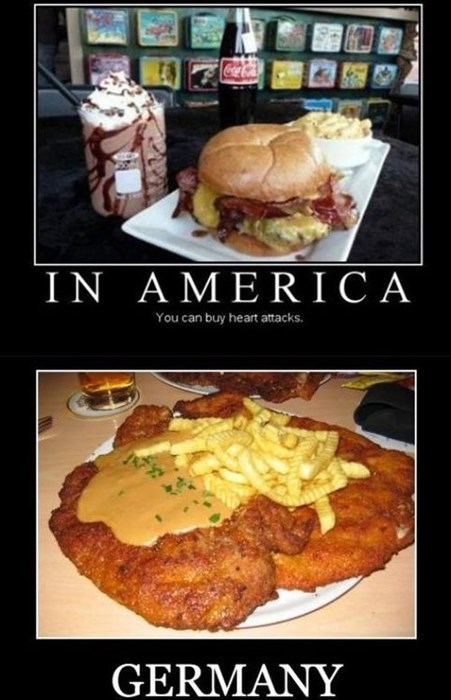 america heart attacks Germany funny - 7969195520