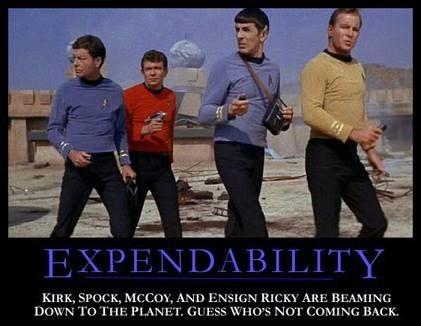 funny red shirt Star Trek - 7969201920