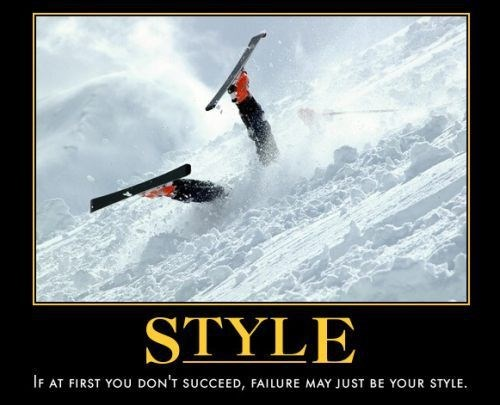 FAIL funny style skis - 7969204224