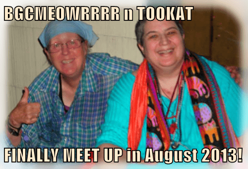 BGCMEOWRRRR n TOOKAT  FINALLY MEET UP in August 2013!