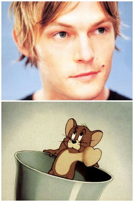 Tom and Jerry norman reedus young fangirling - 7969446144