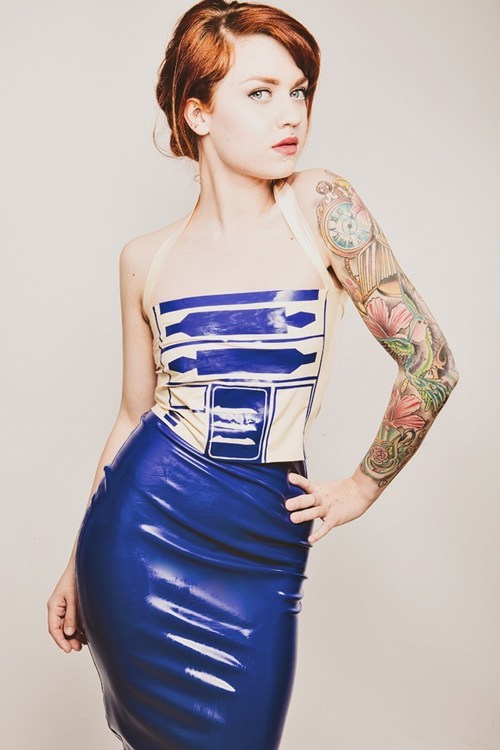 cosplay star wars r2d2 - 7969696256