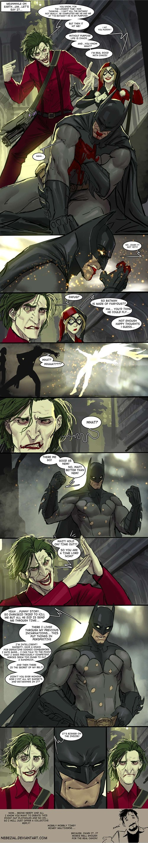 batman doctor who comics Fan Art Time lord - 7969795840