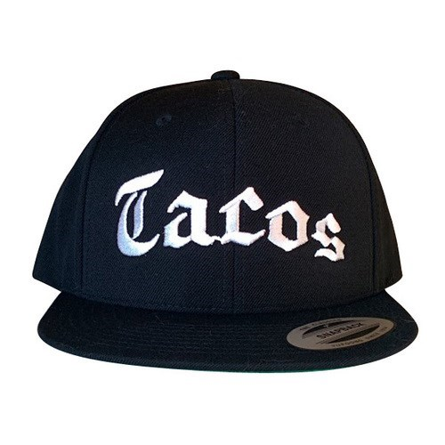 fashion food hat snapback tacos