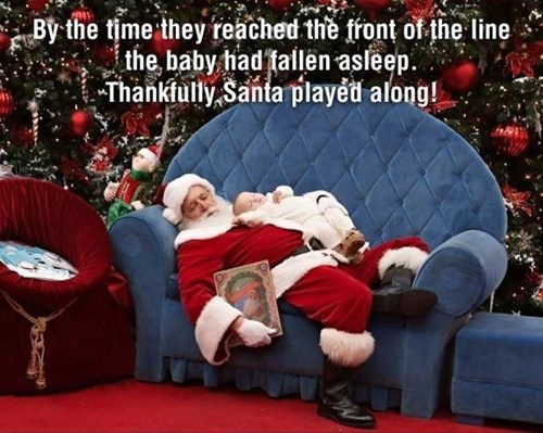 Babies christmas parenting santa claus - 7969991936