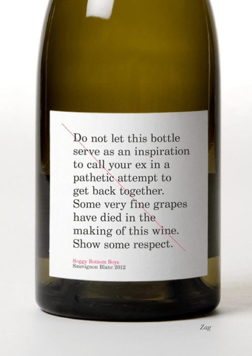 label funny wine respect drunk texts - 7970049024