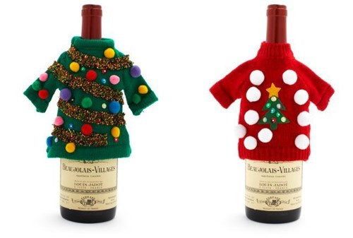 bottles christmas funny wine sweaters - 7970065664