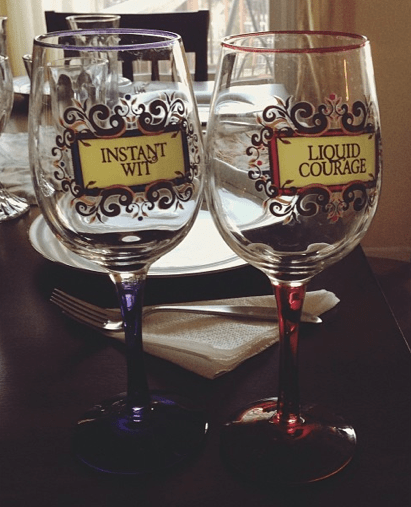courage,funny,wine glasses,wit,after 12,g rated
