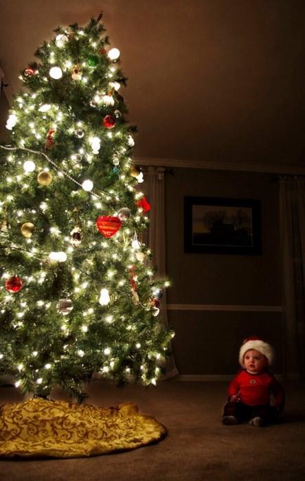 Babies christmas trees christmas parenting