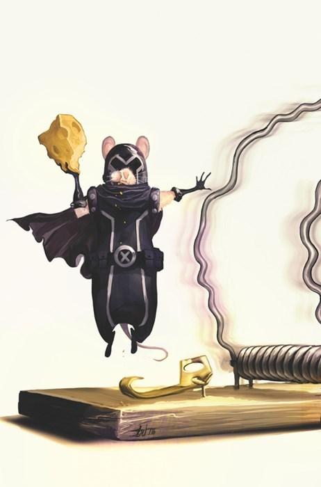 Magneto Fan Art mouse trap mouse - 7970192896