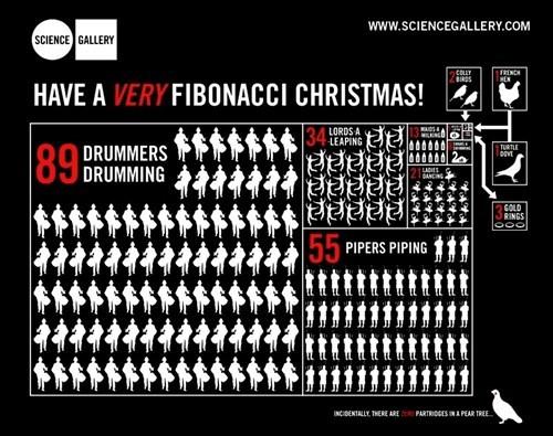 christmas fibonacci funny math - 7970203392