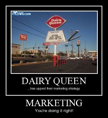dairy queen funny marketing - 7970234368
