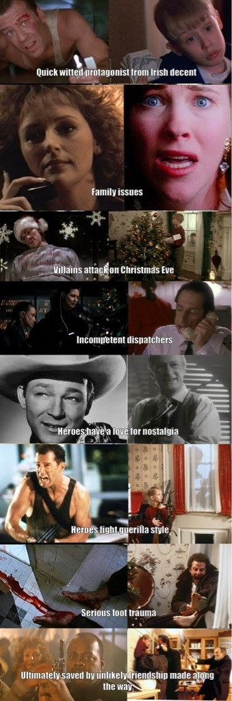 die hard Home Alone movies