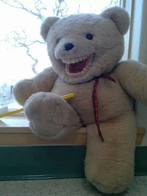 kids teddy bears parenting teeth - 7970337024