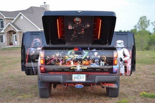 cars,star wars,nerdgasm,trucks